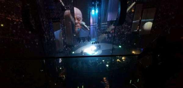 Madison Square Garden, sección: 319, fila: BS3, asiento: 20