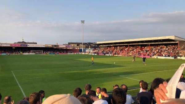 Bootham Crescent, sección: Away Standing, fila: Turnstiles 14 to 21, asiento: 766