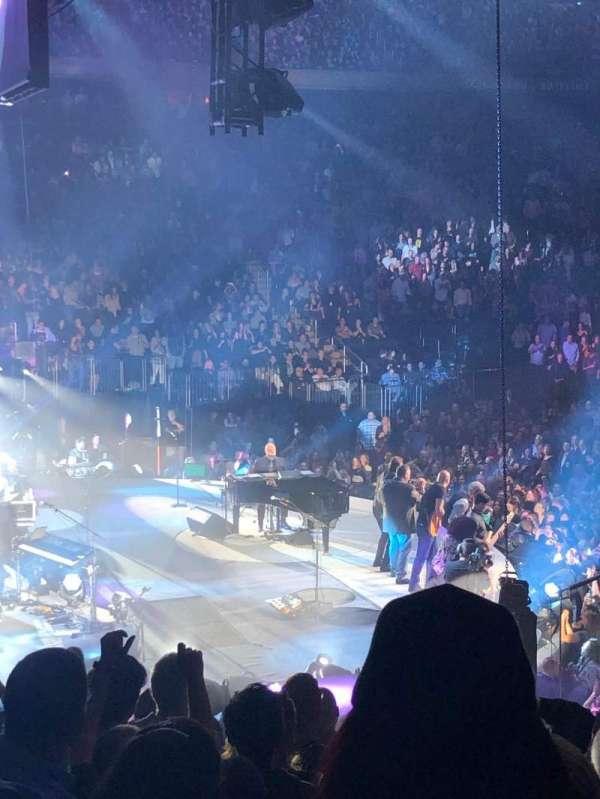 Madison Square Garden, sección: 114, fila: 15, asiento: 18