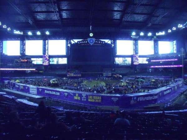 Chase Field, sección: 123, fila: 36, asiento: 9