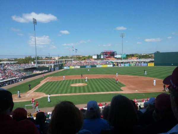 Hammond Stadium at CenturyLink Sports Complex, sección: 204, fila: 11, asiento: 17