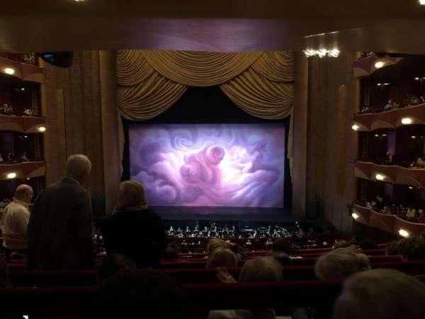 Metropolitan Opera House - Lincoln Center, sección: Grand Tier, fila: F, asiento: 110