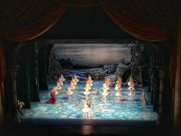 Metropolitan Opera House - Lincoln Center, sección: Balcony, fila: B, asiento: 110