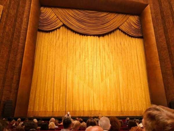 Metropolitan Opera House - Lincoln Center, sección: Orchestra, fila: N, asiento: 103