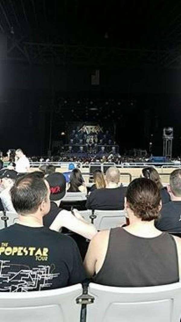 Hollywood Casino Amphitheatre (Tinley Park), sección: 205, fila: TT, asiento: 11-13