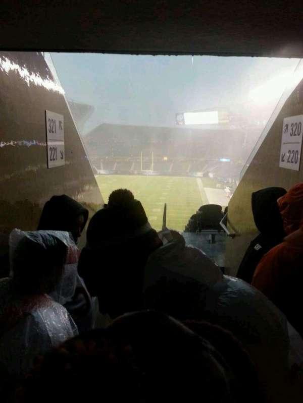 Soldier Field, sección: 321
