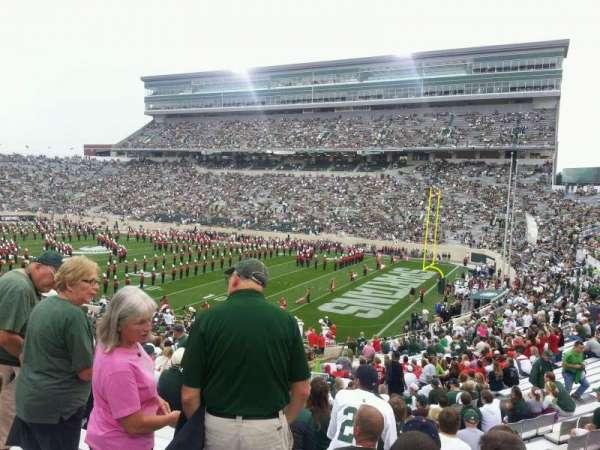 Spartan Stadium, sección: 5, fila: 41, asiento: 25
