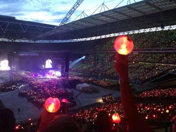 Wembley Stadium, sección: 217, fila: 15, asiento: 92