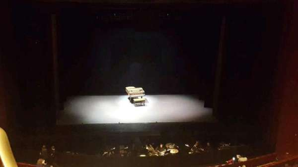 San Diego Civic Theatre, sección: balcony c, fila: p, asiento: 13