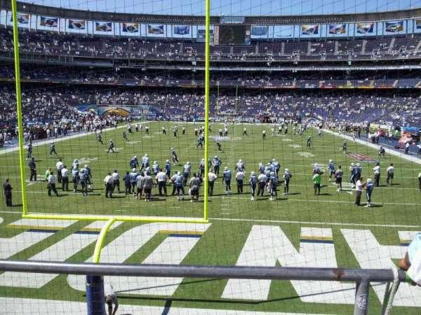 SDCCU Stadium, sección: P52, fila: 3, asiento: 10
