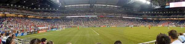 Ford Field, sección: 103, fila: 3, asiento: 6