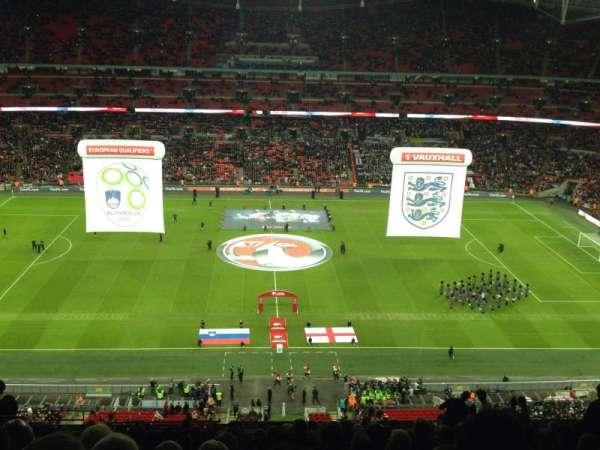 Wembley Stadium, sección: 501, fila: 18, asiento: 6