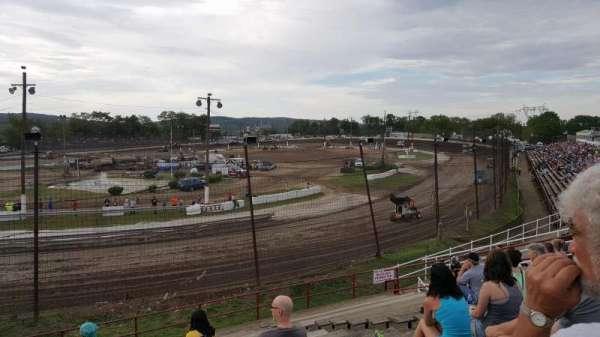Grandview Speedway, sección: Turn 4