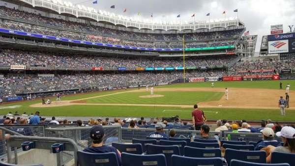 Yankee Stadium, sección: 115, fila: 7, asiento: 9