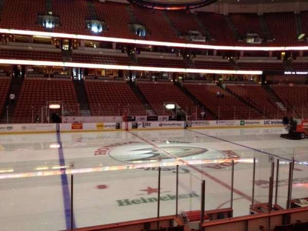 Honda Center, sección: 223, fila: K, asiento: 7