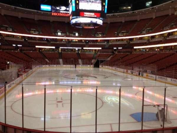 Honda Center, sección: 202, fila: K, asiento: 5