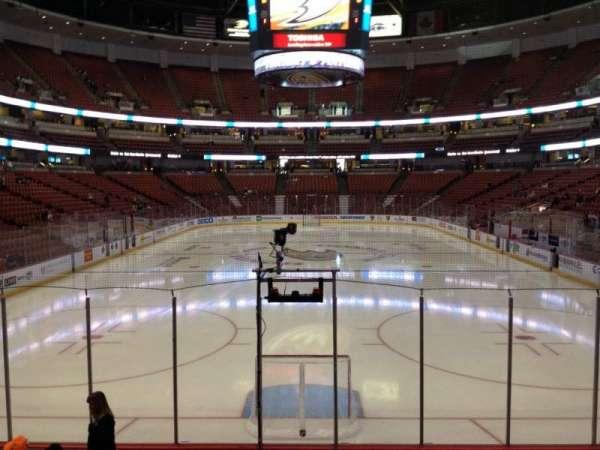 Honda Center, sección: 215, fila: K, asiento: 7