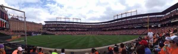 Oriole Park at Camden Yards, sección: 86, fila: 4, asiento: 6