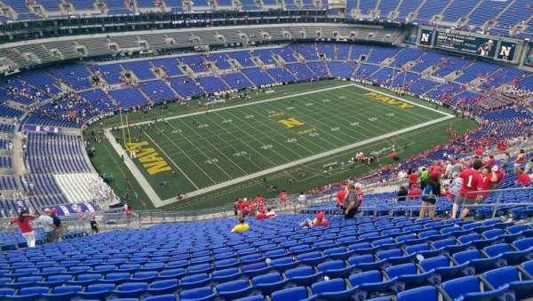 M&T Bank Stadium, sección: 505, fila: 31, asiento: 13