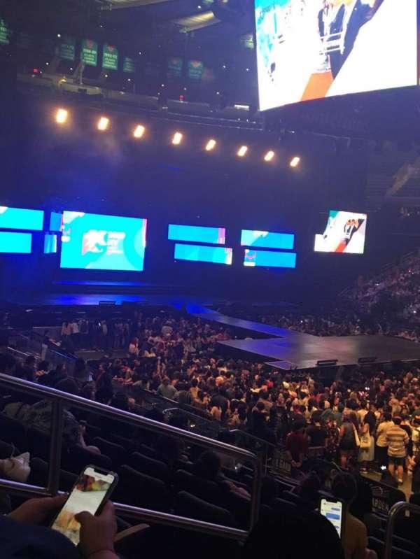 Madison Square Garden, sección: 119, fila: 13, asiento: 3