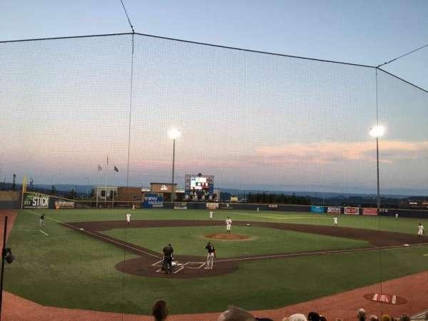 Monongalia County Ballpark, sección: 106, fila: K, asiento: 4