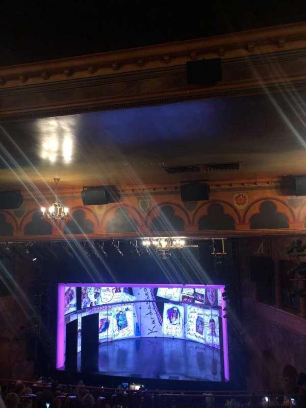 August Wilson Theatre, sección: Mezzanine R, fila: O