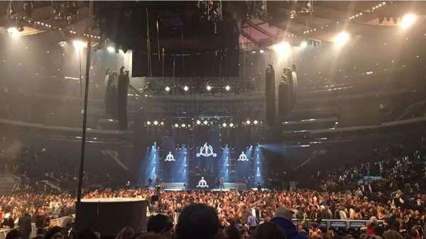 Madison Square Garden, sección: 3, fila: 15, asiento: 5