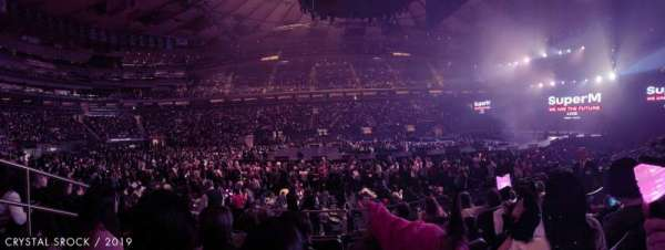 Madison Square Garden, sección: 107, fila: 5, asiento: 3