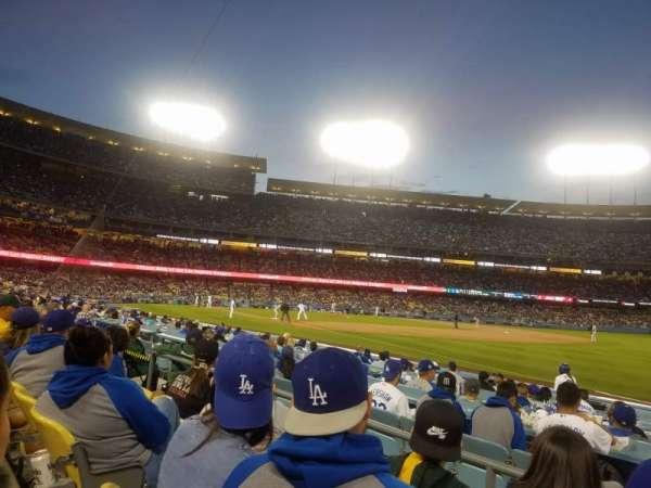 Dodger Stadium, sección: 40FD, fila: C, asiento: 5