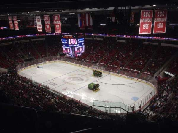 PNC Arena, sección: 337, fila: K, asiento: 14