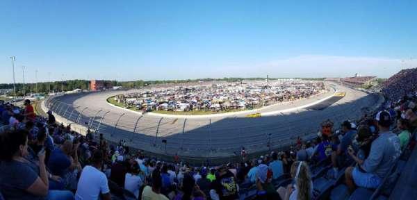 Darlington Raceway, sección: Pearson Q, fila: 19, asiento: 12