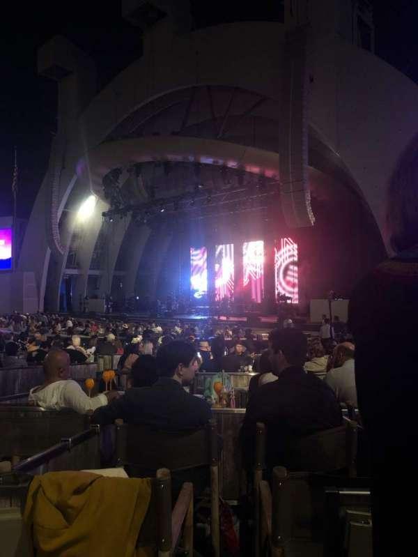 Hollywood Bowl, sección: Garden Box 712, asiento: 1