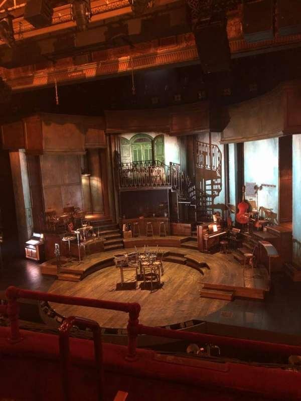 Walter Kerr Theatre, sección: Front Mezzanine Right, fila: C, asiento: 4