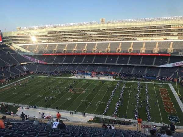 Soldier Field, sección: 434, fila: 20, asiento: 19