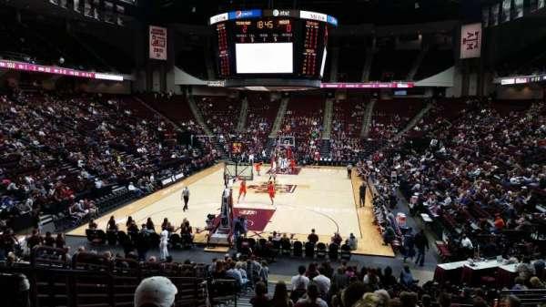 Reed Arena, sección: 127