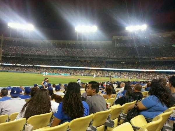 Dodger Stadium, sección: 45FD, fila: D