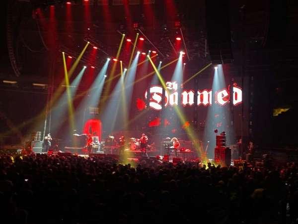 Madison Square Garden, sección: 106, fila: 2 , asiento: 14