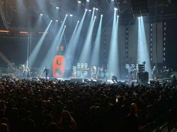 Madison Square Garden, sección: 106, fila: 2, asiento: 14