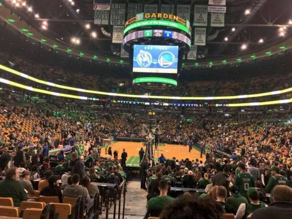 TD Garden, sección: Loge 17, fila: 10, asiento: 12