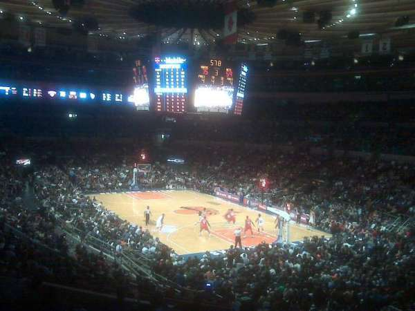 Madison Square Garden, sección: 120