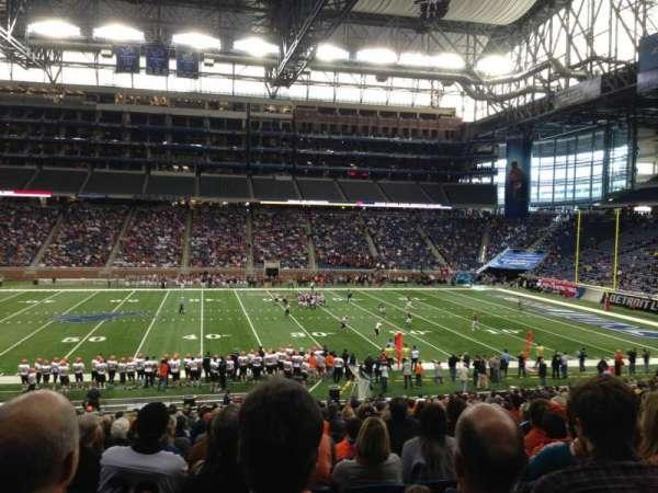 Ford Field, sección: 128, fila: 30, asiento: 4