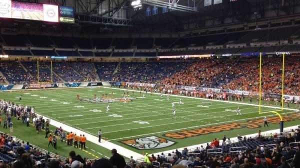 Ford Field, sección: 113, fila: 30, asiento: 15