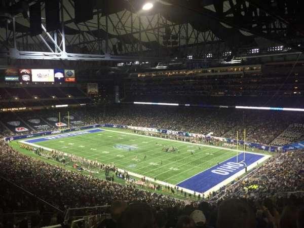 Ford Field, sección: 338, fila: 19, asiento: 2