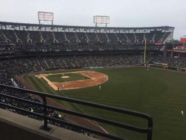 Guaranteed Rate Field, sección: 509, fila: 2, asiento: 8