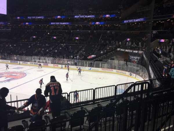 Barclays Center, sección: 104, fila: 5, asiento: 6