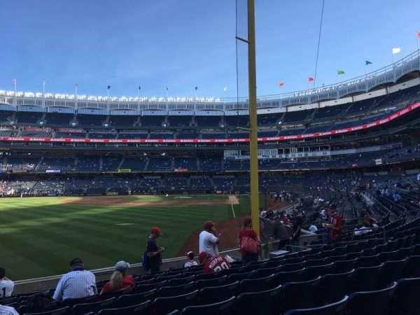Yankee Stadium, sección: 132, fila: 10, asiento: 20