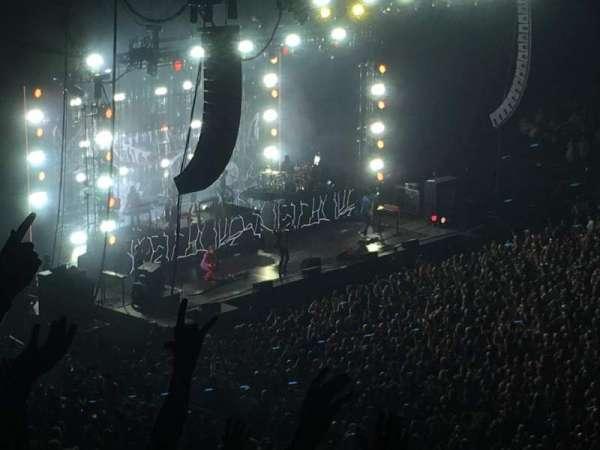 Madison Square Garden, sección: 226, fila: 8, asiento: 1