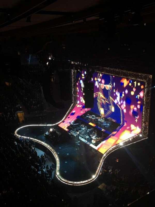 Madison Square Garden, sección: 313, fila: 1, asiento: 6