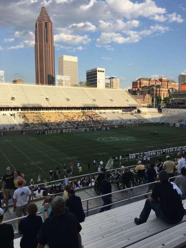 Bobby Dodd Stadium, sección: 110, fila: 38, asiento: 20