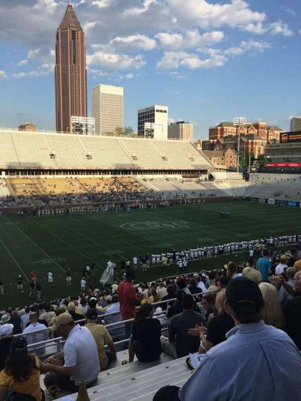 Bobby Dodd Stadium, sección: 109, fila: 38, asiento: 24